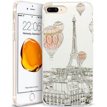 Estuche Iphone 7 Plus Híbrido Tpu Parachoques Dura Antirayon