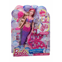 Barbie Sirena Burbujas Magicas