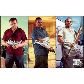 Poster Cartaz Jogo Grand Theft Auto V - Gta 5 #e
