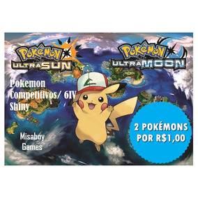 Pokémon Competitivo Shiny 6iv Ultra Sun E Moon 3ds