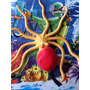Pulpo Juguete Goma Super Real 22cm Octupus Increible !!!!!