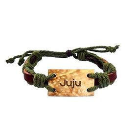 Encargo Pulsera De Coco Con Texto Grabado: Juju (primer Nomb