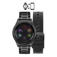 Smartwatch Technos Duoconnect Touchscreen Preto 44mm P01ab4p