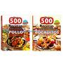 Oferta: 2 Libros Para Cocinar Bocaditos Y Recetas Con Pollo