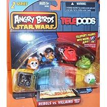 Juguete Angry Birds Star Wars Telepods Rebeldes Vs Villanos