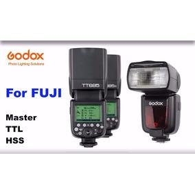 Flash Godox P/ Fuji Tt685f Spedlight Ttl/hss