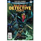 Detective Comics 12 Renascimento - Panini Bonellihq Cx16 E18