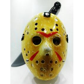 Máscara Jason + Jig Saw + V De Vingança + Facão
