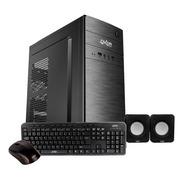 Gabinete Pc Kit Overtech Ov-k190 Negro Con Fuente Ok-6500 Pc