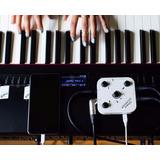 Interface De Áudio Para Fazer Videos Teclado/violão/microfon
