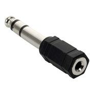 Adaptador Miniplug Hembra A Plug Stereo Macho - La Roca
