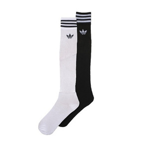Medias adidas Originals Rodilla Color Liso 2 Pares Bn