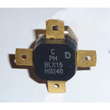 Transistor Para Potencia Fm Rf Blx15 Original Philips 150w