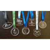 Medallas En Acrilico C/cinta 5 Cm Diametro