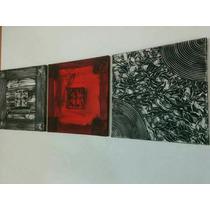 Cuadros Abstractos Tripticos Texturados Grupo Raiim