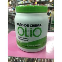 Baño De Crema Olio Extra Ácido Teñidos 1kg Profesional