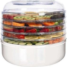 Ronco-5-bandeja-eléctrico-deshidratador-blanco Alimentos