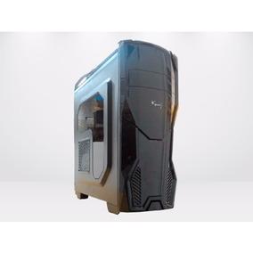 Gabinete Kanji Cosmo Negro / Blanco Led Cooler Gamer Usb 3.0