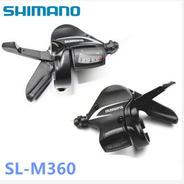Manijas De Cambio Shimano Acera M360( 24 Velocidades)