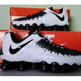 Tênis Nike Shox Tlx 12 Molas Azul Com Cinza - Calçados e14ba1aabe40f