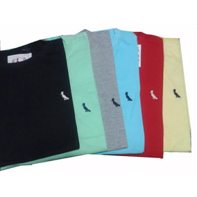Kit 10 Camisa Camiseta Roupas Masculina Gola Redonda Basica