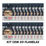 Kit 20 Flanela Antiembaçante Oculos Espelho Parabrisa