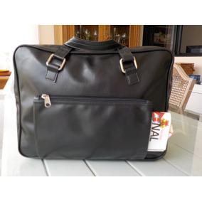 de1304a46b4 Bolsa mala De Mão Couro Sintético C  Compartimentos C  Ziper · R  30