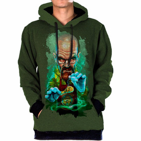 Blusa Moletom Bolso Lateral Breaking Bad Tumblr Swag Cristal