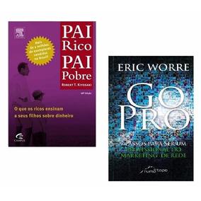 Livros Pai Rico E Pai Pobre E Go Pro
