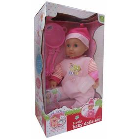 Muñeca Lovely Baby Dolls Con Accesorios