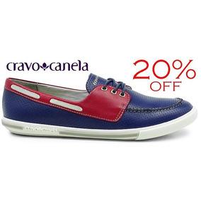 20% Off Sapatênis Cravo & Canela Dockside Marinho 96740
