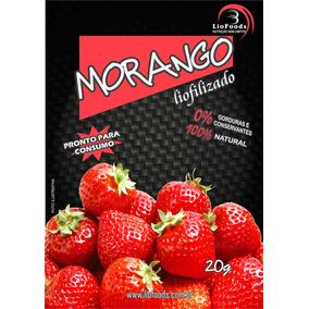 Snack Morango Liofoods