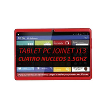 Tablet Pc Joinet J13 Quadcore 1.5ghz 1gb Ram Android J13quad
