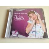 Violetta Cantar Es Lo Que Soy Cd + Dvd Nuevo Nacional