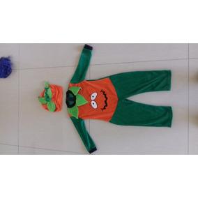 Bello Disfraz Halloween Calabaza Sultan De 1 A 2 Años