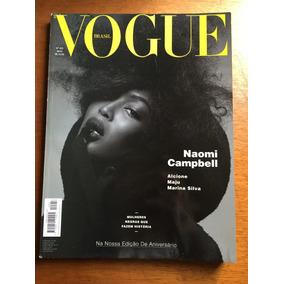 Revista Vogue Brasil Naomi Campbell Alcione Maju Cris Viana
