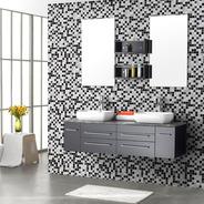 Adesivo De Parede Pastilha Lavável Cozinha Banheiro 310x58cm