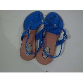 Sandalias Azules Dama 40