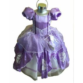 Vestido Disfraz De Princesa Sofía. Princesita Sofía.