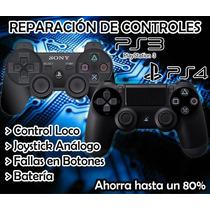 Reparación De Controles De Ps3 Y Ps4