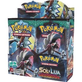 Caixa 36 Booster Pokémon Sol Lua 2 Guardiões Ascendentes Box