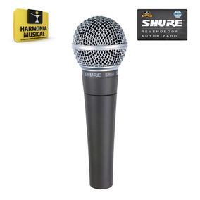 Microfone Shure Sm-58 Lc - Harmonia Musical