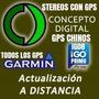 Actualizacion Gps A Distancia Garmin Igo8 Primo Chino Auto