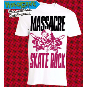 Remera Massacre Skate Rock 2016