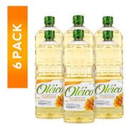 Aceite Oléico Puro De Cártamo 946 Ml (6 Piezas)
