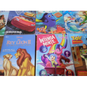 7 Libros Disney Cuentos Clasicos El Rey Leon 2 Cars Toy His