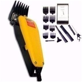 Maquina Corta Cabelo Barba Profissional 220v C/ Kit Complet