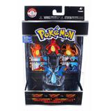 Pokemon Mega Charizard Evoluciones Pack X 4 Tomy