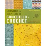 Manual Técnicas De Ganchillo Crochet, Todhunter, Librero