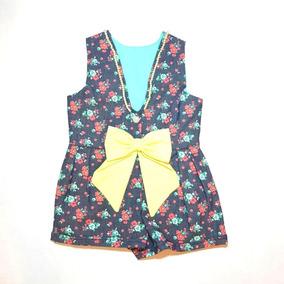 Jumper Renata. Moda Para Bebes Con Moño.